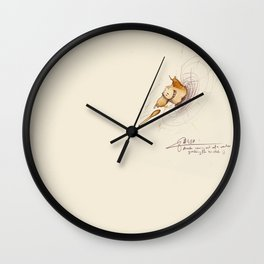 #coffeemonsters 497 Wall Clock