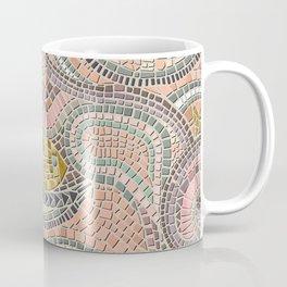 mosaic fish pastel Coffee Mug