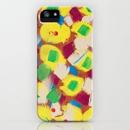 Interesting Thoughts by Australian Young Artist Lang Jing Niya Potdar – Acrylic Painting on Canvas iPhone Case