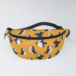 Puffin Orange Pattern Fanny Pack