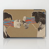 kiss iPad Cases featuring Kiss by Canson City