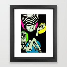lover call Framed Art Print