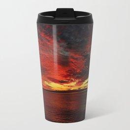 Fiery Sunset Travel Mug
