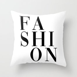 fashion Throw Pillow