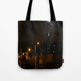 Full Chicago Moonscape Tote Bag