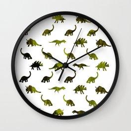 Dino Patter Wall Clock