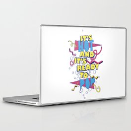 It's Hot And It's Ready To Pop V1 Laptop & iPad Skin