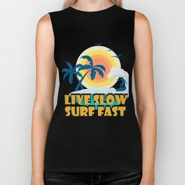 Surfing T-Shirt For Daughter/Son. Biker Tank