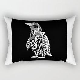 kuro penguin Rectangular Pillow