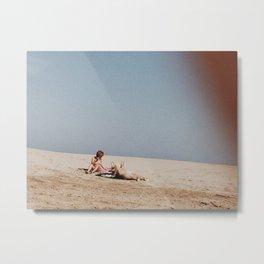 French Beach Metal Print