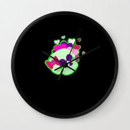 Happy Skulls Wall Clock