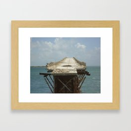 Bridge to Nowhere (Florida Keys) Framed Art Print