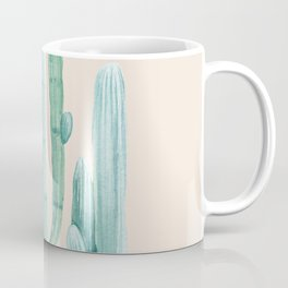 Three Amigos Turquoise + Coral Coffee Mug