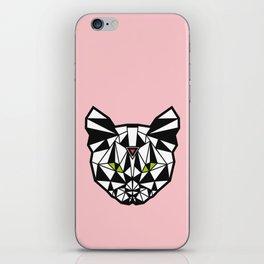 Crystal Cat iPhone Skin