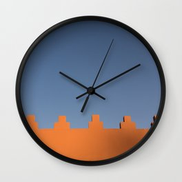 Marrakech Sky Wall Clock