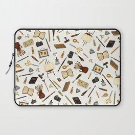 Creative Artist Tools - Watercolor Laptop Sleeve