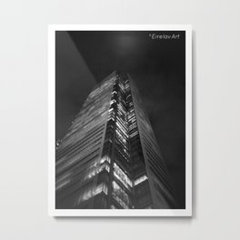 Gotham (K)NIGHT Metal Print