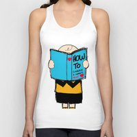 snoopy Tank Tops featuring How to conquer a woman's heart by Alexandre Reis
