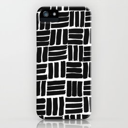 Mono squares iPhone Case