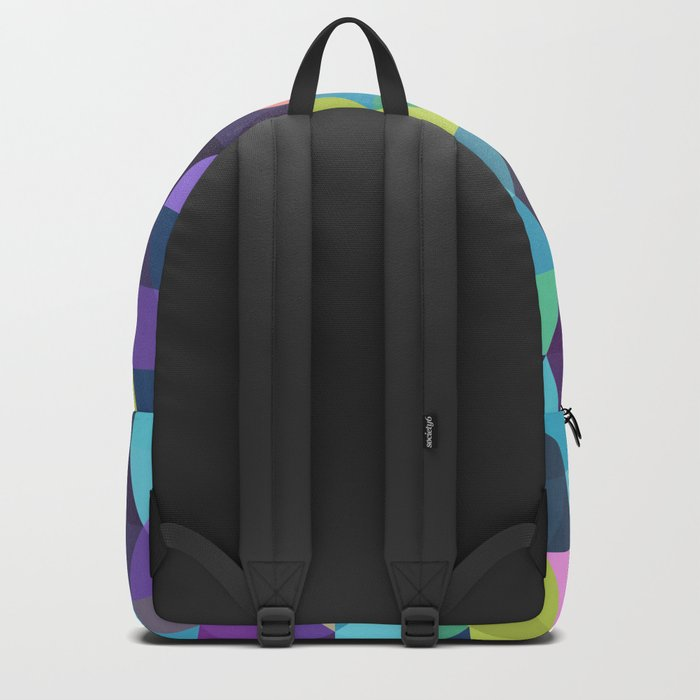 Colorful Geometric Background III Backpack