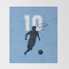Argentina Número Diez Throw Blanket