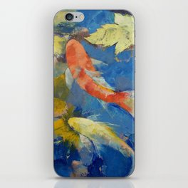 Autumn Koi Garden iPhone Skin