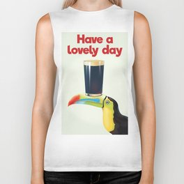 Have a Lovely Day Biker Tank