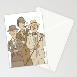 The Detectives Stationery Cards