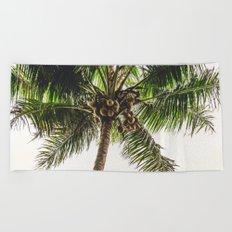 Coconut Bounty Beach Towel