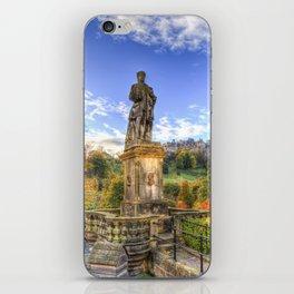 Allan Ramsey And Edinburgh Castle iPhone Skin