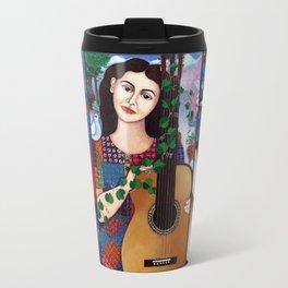 Violeta Parra collage Travel Mug