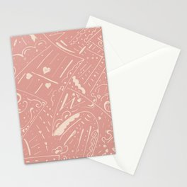 Skin texture Stationery Cards
