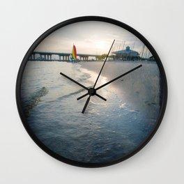 Ocean Springs Sunset Wall Clock