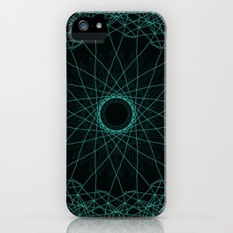 Geometric Freedom iPhone Case