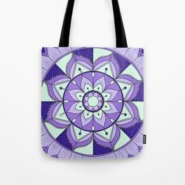 Mandala Maze Tote Bag