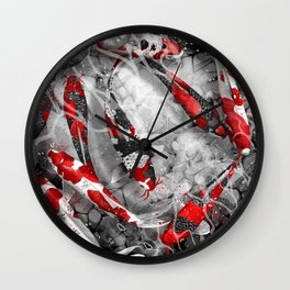 Nine Kois Wall Clock