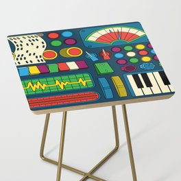 Magical Music Machine Side Table