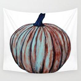 Spooky Halloween Pumpkin Wall Tapestry