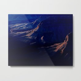 Grand Canyon Subtle Evening Light Metal Print
