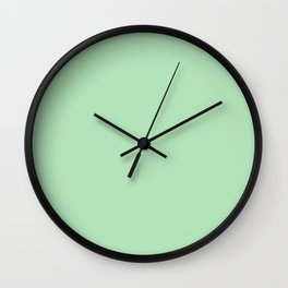 Mint. Wall Clock