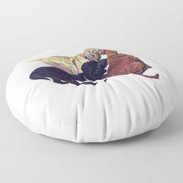 Three Amigos II Floor Pillow