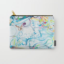 Fibroblasts - Watercolor Painting Carry-All Pouch