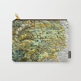 Old Garden III Carry-All Pouch