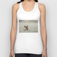 sparkles Tank Tops featuring among sparkles by Bonnie Jakobsen-Martin