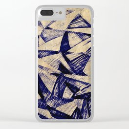 Paper Planes Clear iPhone Case