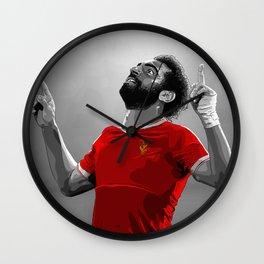 Mohamed Salah - Liverpool Wall Clock