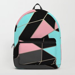 Abstraction . 5 geometric pattern Backpack