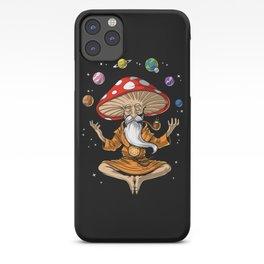 Buddha Magic Mushroom iPhone Case