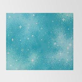Winter Nebula Throw Blanket