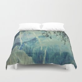 dreaming under the birch Duvet Cover